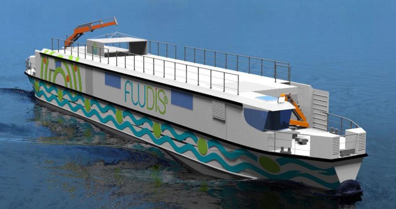 Fludis: entrega de encomendas com barcos e bicicletas elétricas