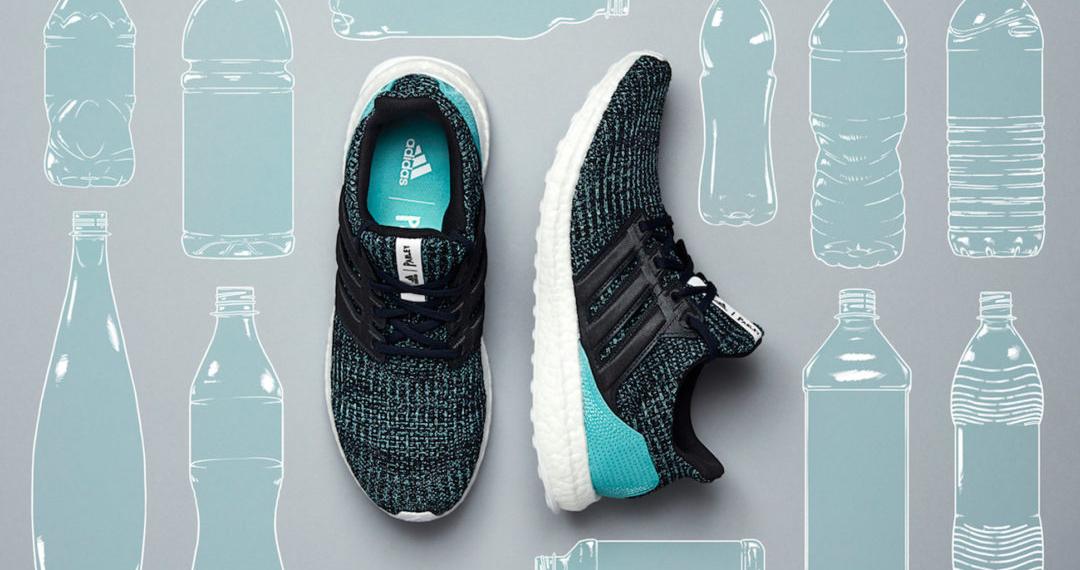 Adidas: reciclagem de plástico para fabrico de ténis
