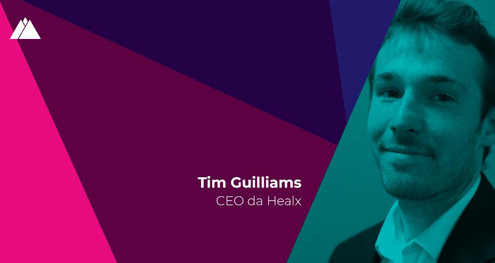 """Tim Guilliams (Healx): """"Queremos transformar a descoberta de tratamentos para doenças raras"""""""