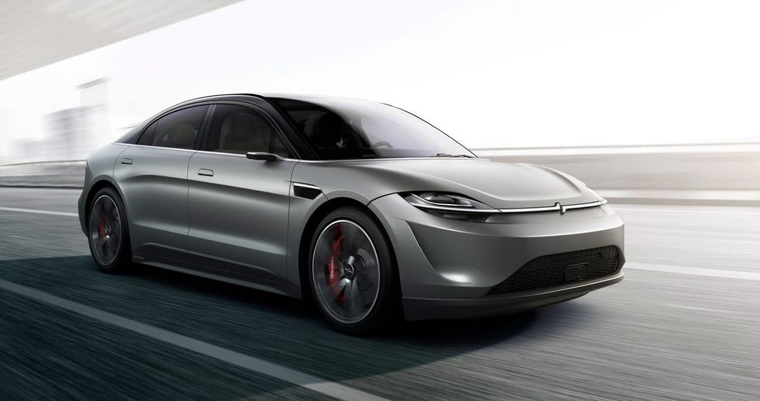 Sony apresenta carro elétrico e autoguiado