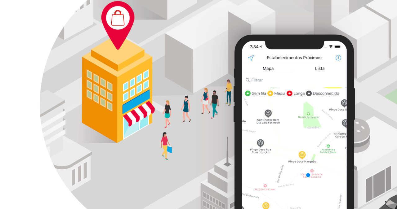 Posso ir?, uma App para evitar filas nas farmácias e supermercados