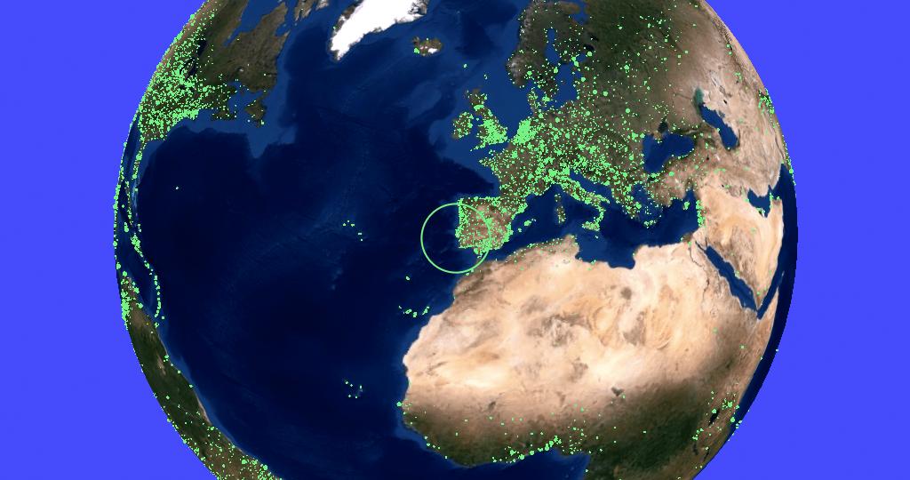 "Radio Garden: ""Google Earth"" de estações de rádio de todo o mundo"