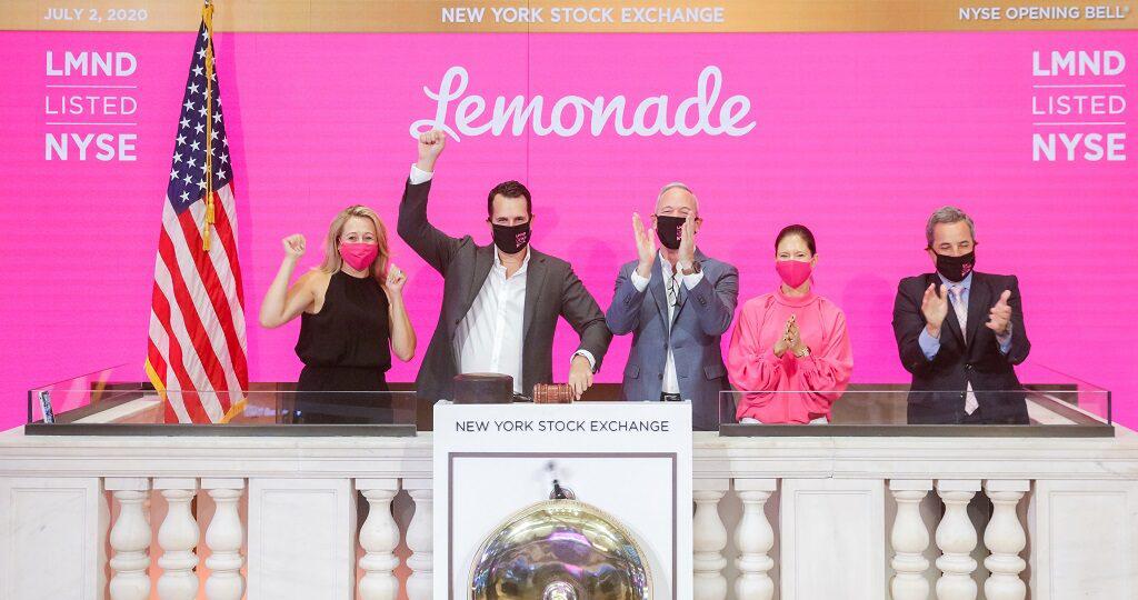 Seguradora digital Lemonade entra em bolsa