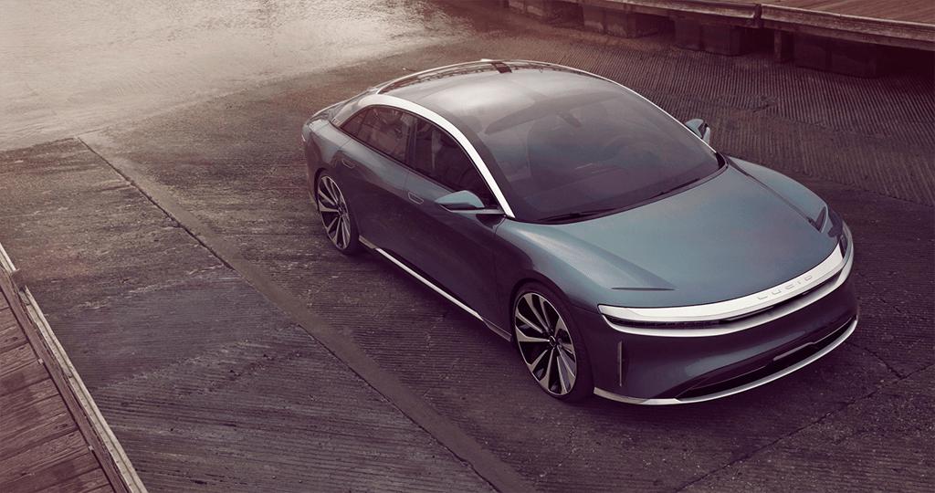 Lucid Motors desafia gigantes automóveis