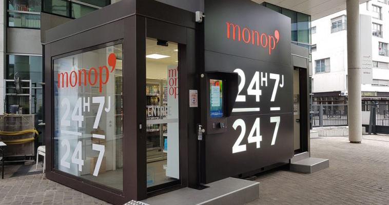 Black Box, loja automatizada dos supermercados Monoprix