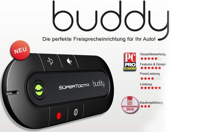 Bluetooth Freisprecheinrichtung Supertooth Buddy