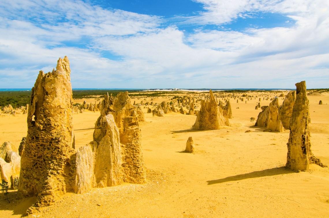pinnacles road trip côte ouest australie