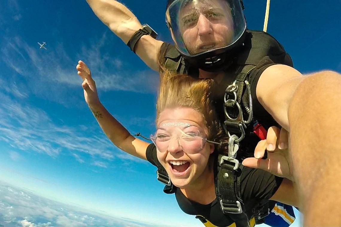 saut en parachute whitsunday islands skydive