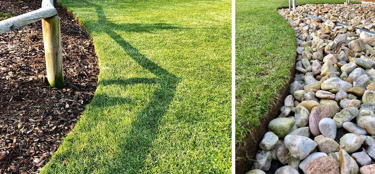 Zastřižení okrajů dodá trávníku exklusivitu