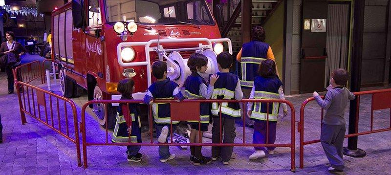 Estación de bomberos infantil de Micropolix