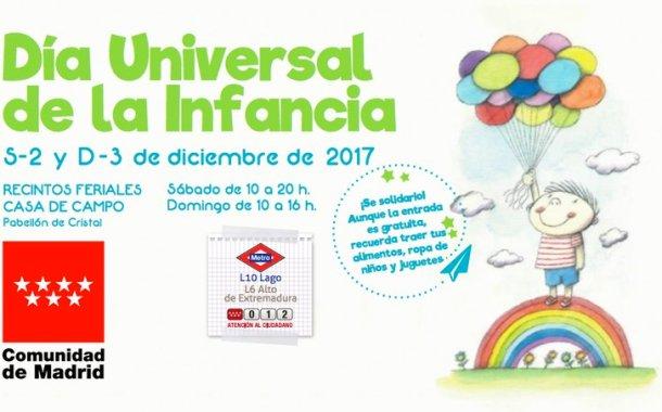 DÍA UNIVERSAL DE LA INFANCIA 2017 EN MADRID