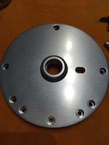 Non handle side plate