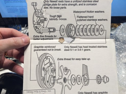 Newell Drag Assembly
