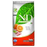N&D GATO GRAIN FREE PESCADO 1.5 KG
