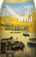 TASTE OF THE WILD HIGH PRAIRIE CON BISONTE Y VENADO PAQUETE DE 5 LIBRAS