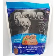 Evolve Dog Snack Wafers al horno Chicken- Pollo 12 oz -340 gr