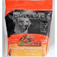 Evolve Dog Snack Wafers al horno Lamb- Cordero 12 oz -340 gr