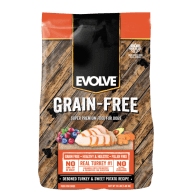 Evolve Dog Grain Free Pavo 13 lb