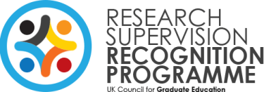 Research Supervision Recognition Programme Logo