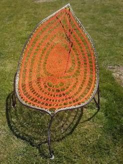 feuille orangee metal tresse supervolum (5)