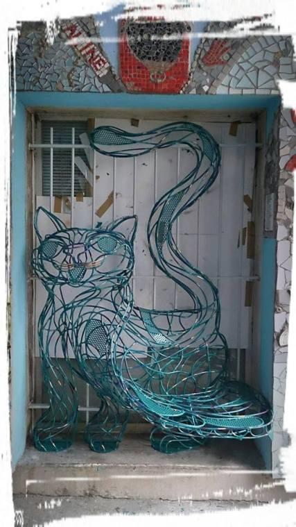 chat piat sculpture metal sara renaud supervolum (25)1