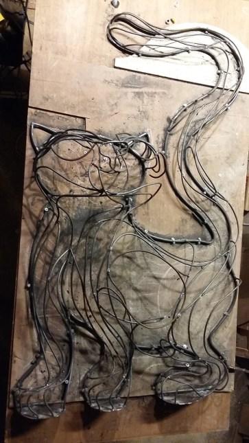 chat piat sculpture metal sara renaud supervolum (8)