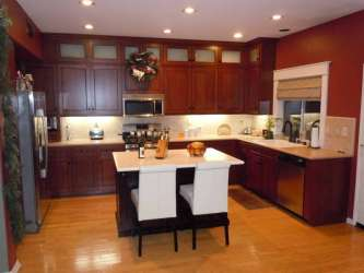 kitchen remodel decorating cabinets island budget modern 10x10 designs tips easy tiny midcityeast some
