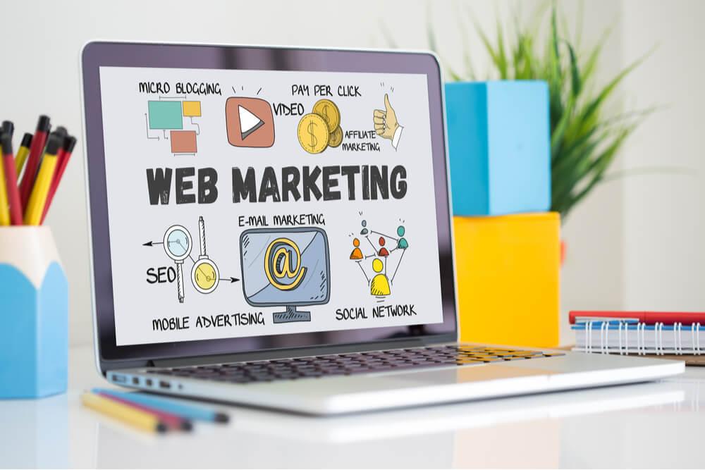 les domaines liés à la rédaction web