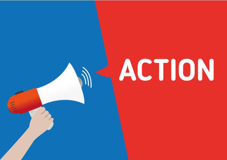 le but de la page de vente est l'appel à l'action