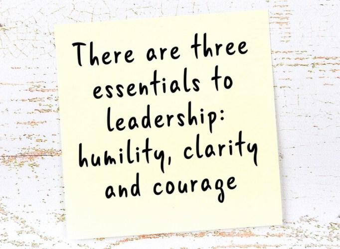 authenticité et humilité