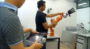 Kuka: world's first robot capable of working safely with humans on delicate tasks