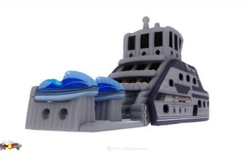 This new toy takes the phrase 'superyacht inflatable' to the next level