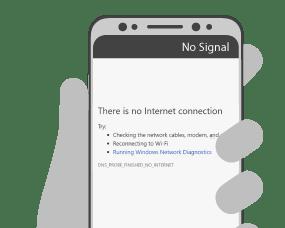 No Internet Connection (c) Peplink