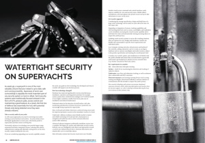 Watertight Security on Superyachts