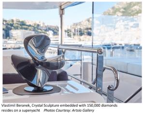 Art On Superyacht