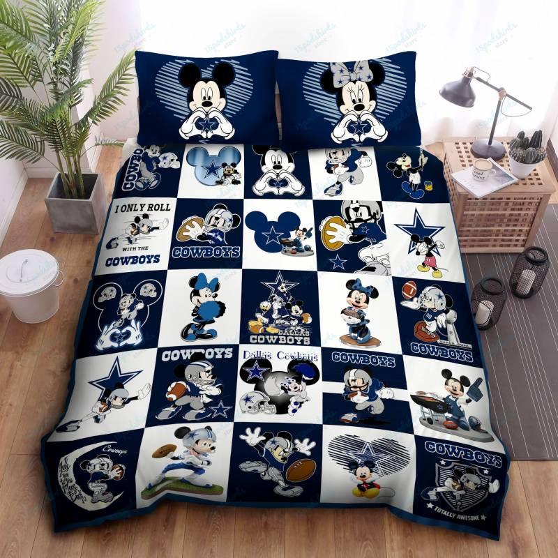 dallas cowboys mickey disney bedding