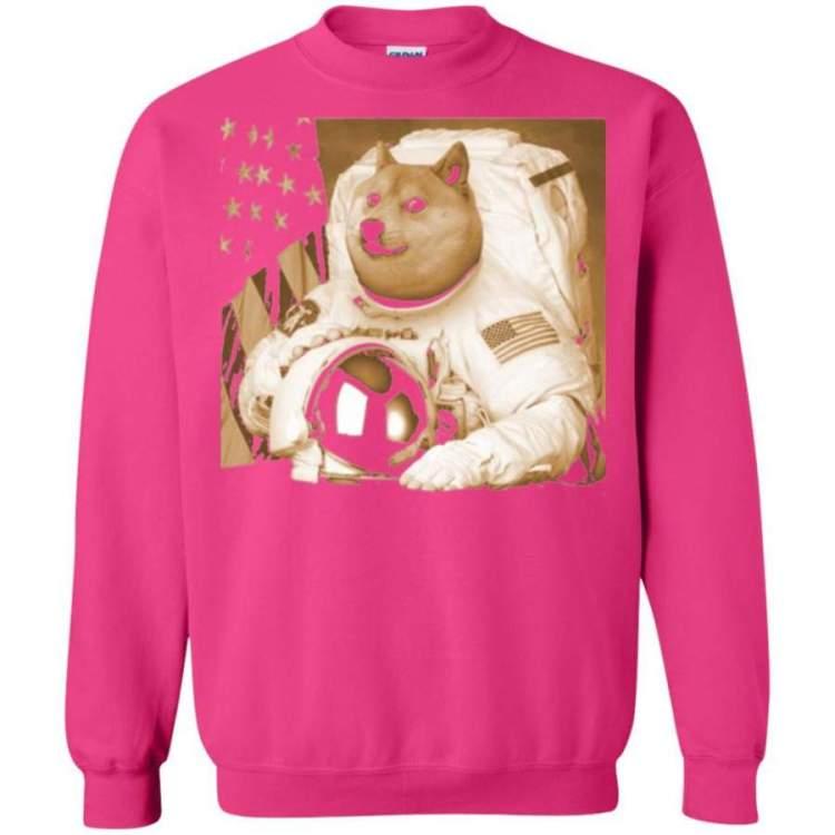 Astronomy T-shirt Dogecoin Moon Astronaut Crypto - SLOUDY ...