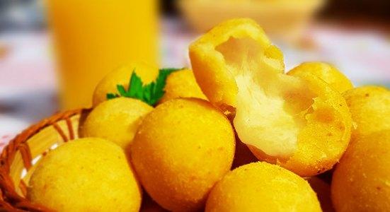 Imagem de bolinha de queijo