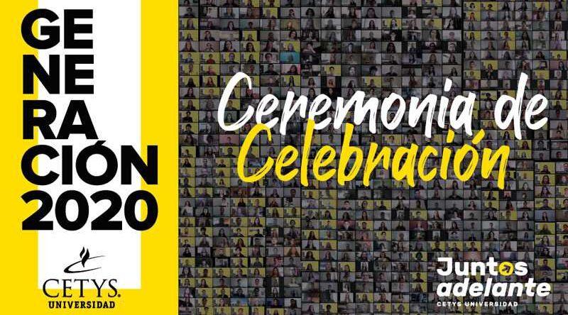 Realiza Cetys celebración histórica para la generación 2020