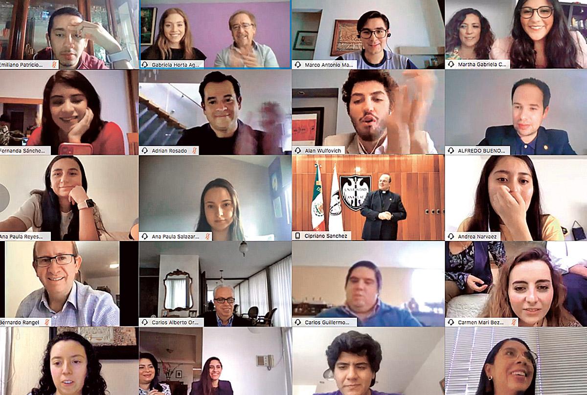 Despide Anáhuac a generación 2020 de manera virtual