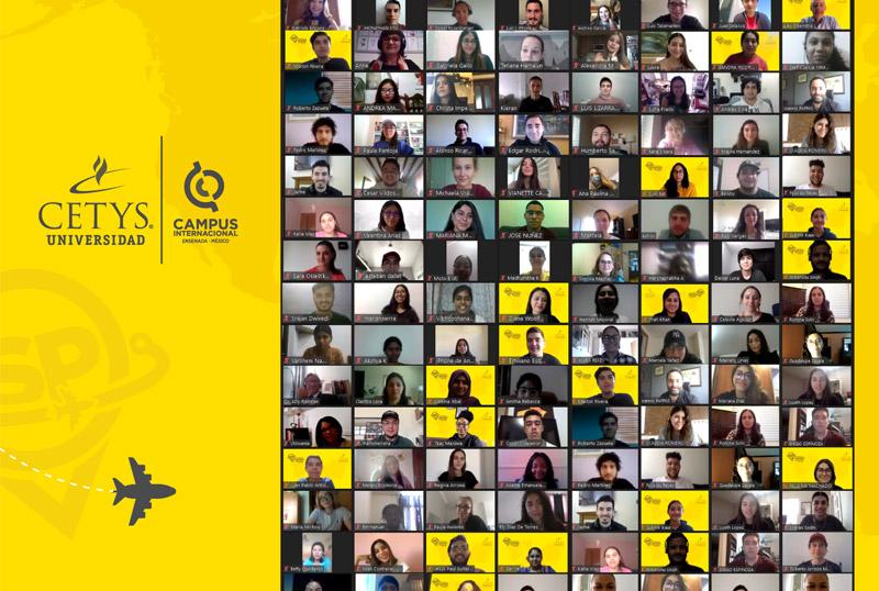 Estudiantes de 17 nacionalidades participan en programa de verano internacional de Cetys en modalidad virtual