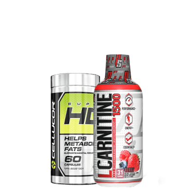 PACK QUEMA GRASA super hd + l-carnitine
