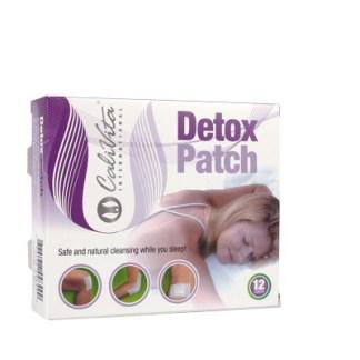 Detox Patch Calivita plasturi detoxifiere 12 bucati
