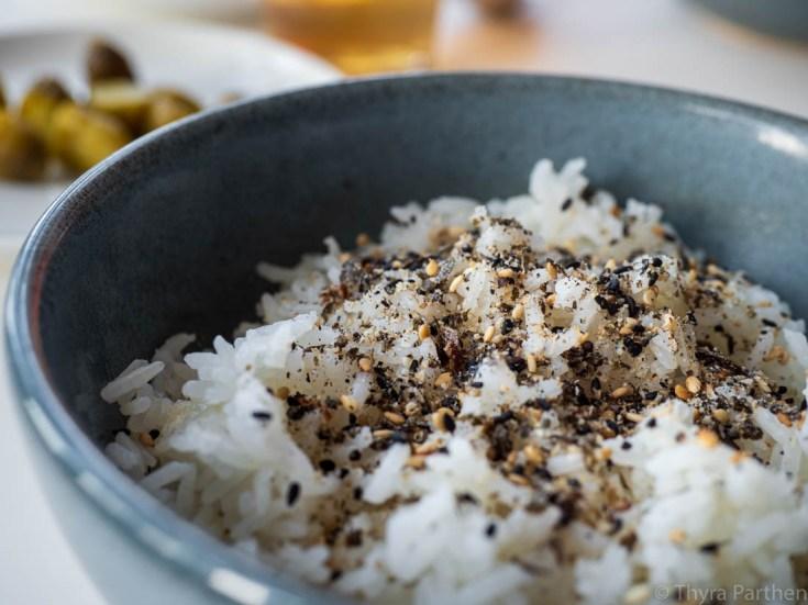 Furikake auf Reis
