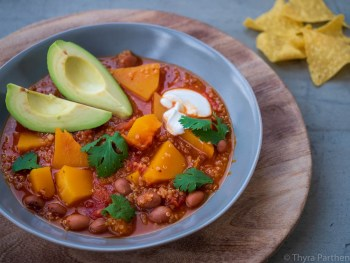 Kürbis-Quinoa-Chili