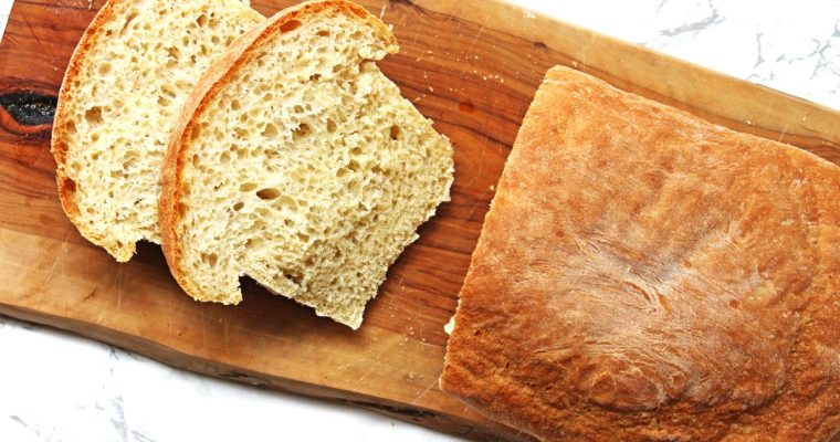 How to bake the perfect White Loaf of Bread