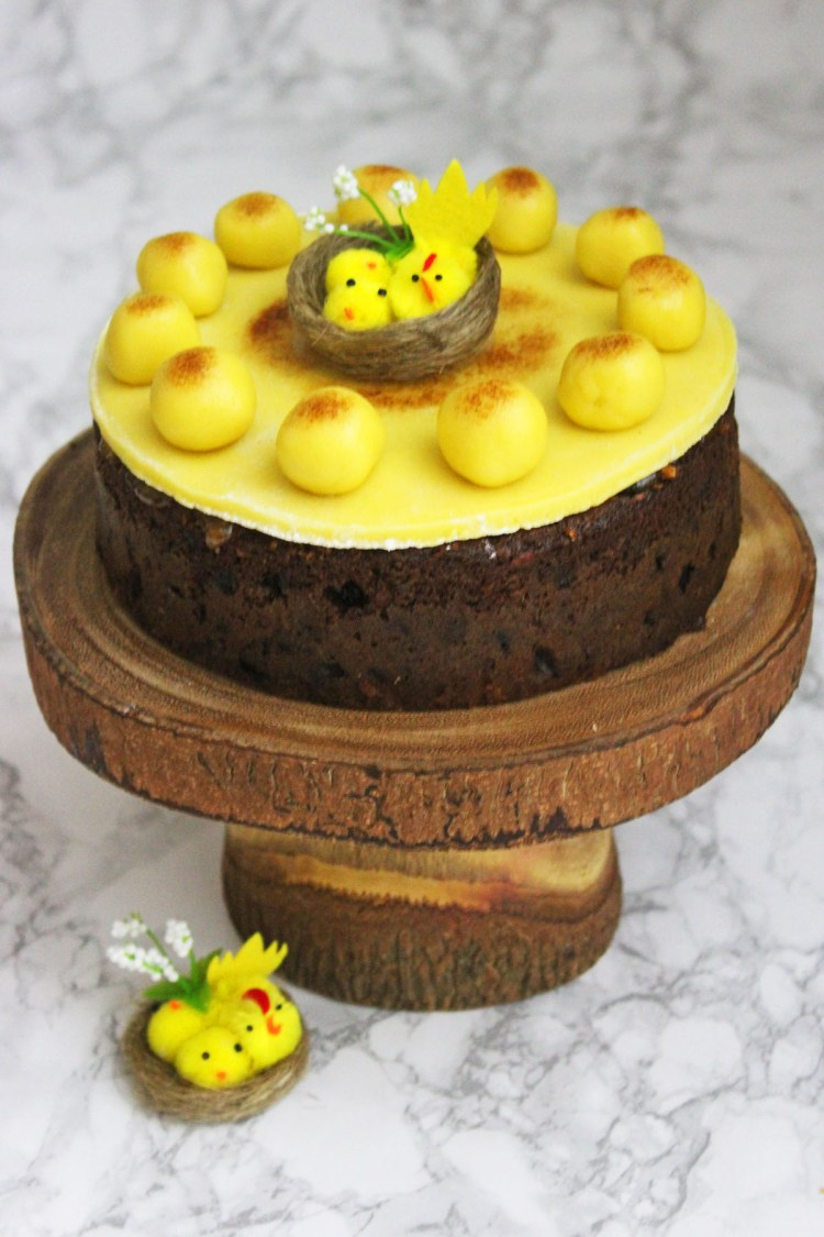 Traditional Simnel Cake recipe from Supper in the Suburbs