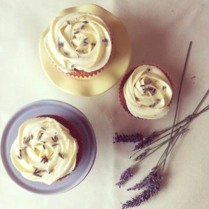 Lavender and Honey Cakes