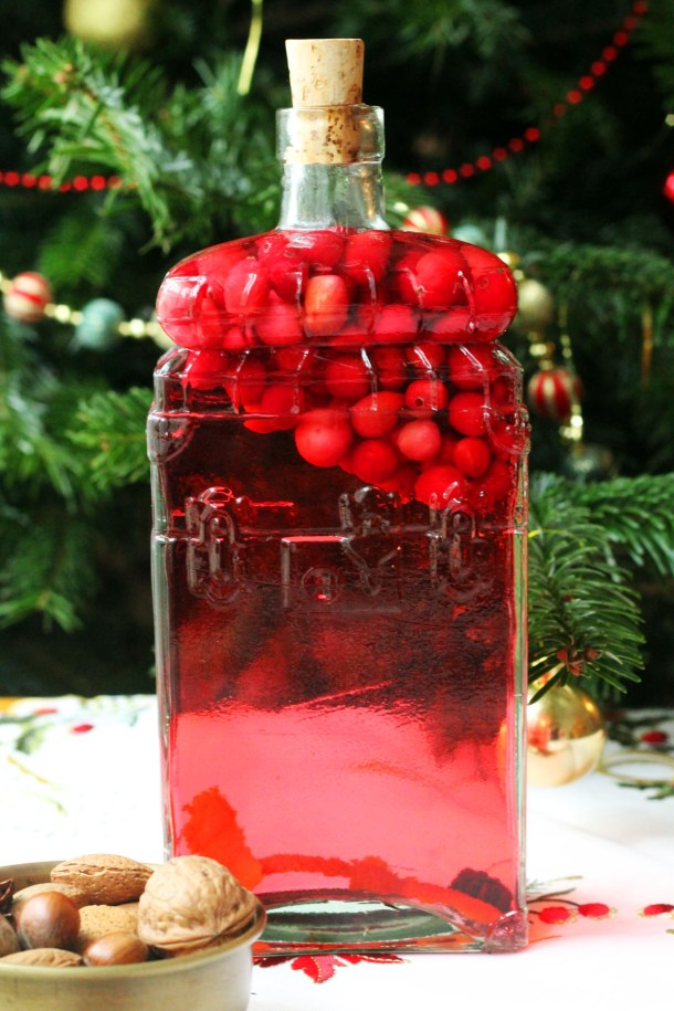 Make your own Cranberry Infused Gin at home let Emma from Supper in the Suburbs show you how