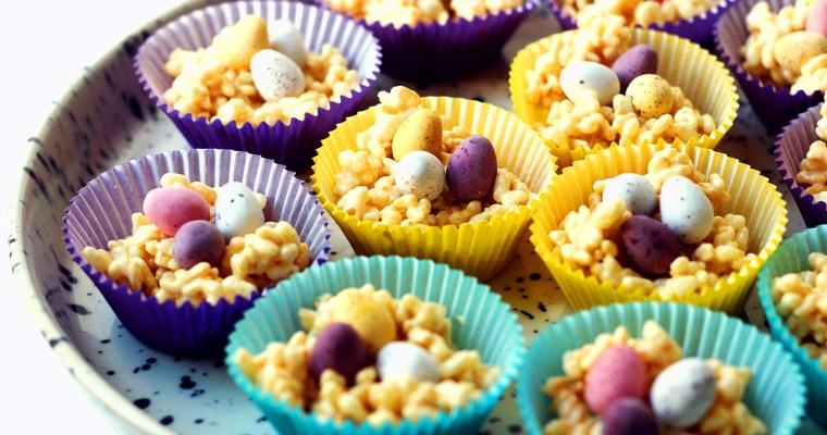 Easter Marshmallow Nests